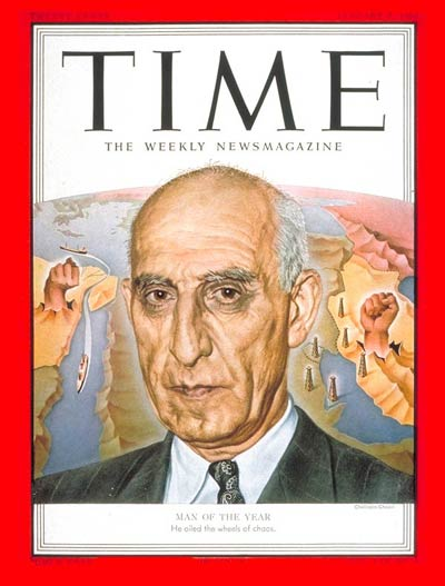 Mosaddeq Person of the     Year 1951